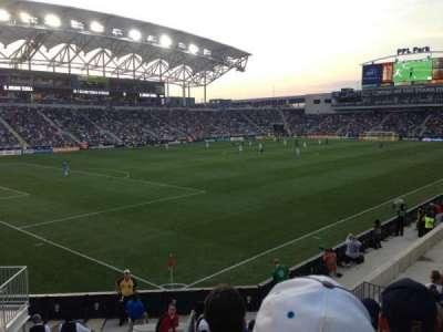 Talen Energy Stadium secção 133