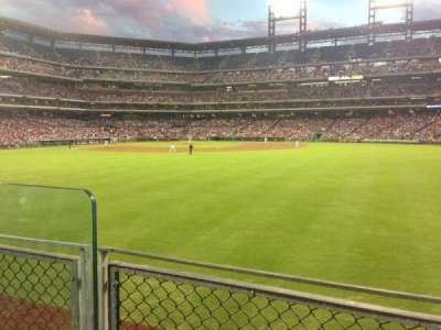 Citizens Bank Park secção 101