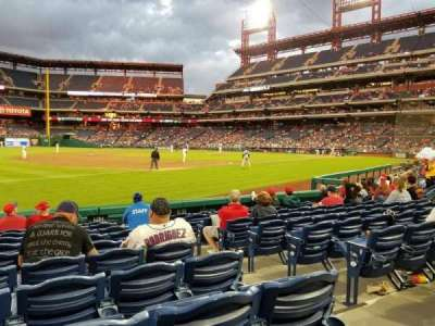 Citizens Bank Park secção 135