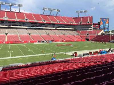 Raymond James Stadium secção 108