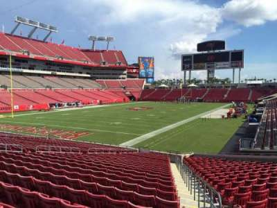 Raymond James Stadium secção 151