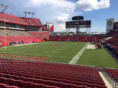 Raymond James Stadium secção 150
