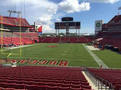 Raymond James Stadium secção 149