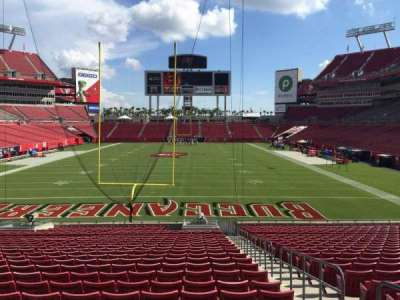 Raymond James Stadium secção 148