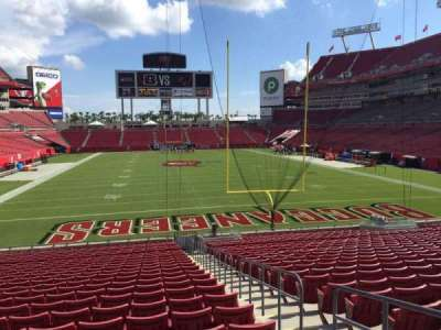 Raymond James Stadium secção 147