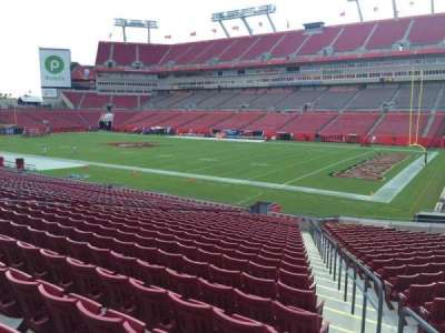 Raymond James Stadium secção 140