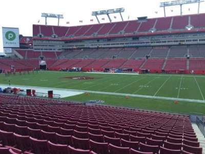 Raymond James Stadium secção 138