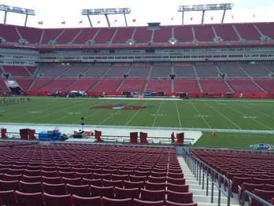 Raymond James Stadium secção 136