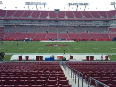 Raymond James Stadium secção 135