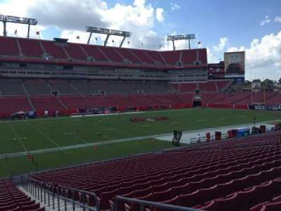 Raymond James Stadium secção 132