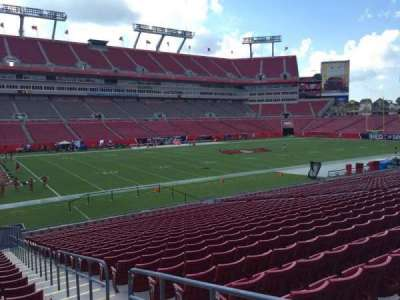 Raymond James Stadium secção 131