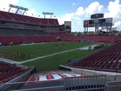 Raymond James Stadium secção 127