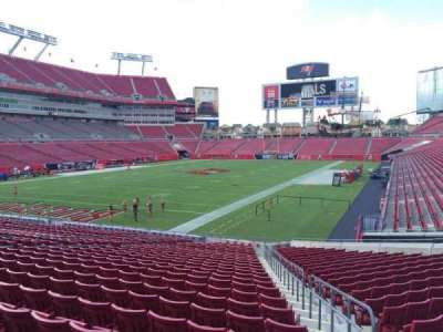 Raymond James Stadium secção 126