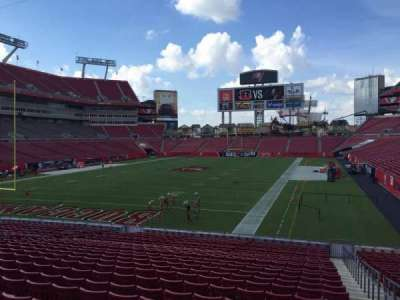 Raymond James Stadium secção 125