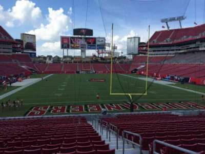 Raymond James Stadium secção 122