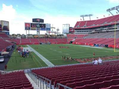 Raymond James Stadium secção 120