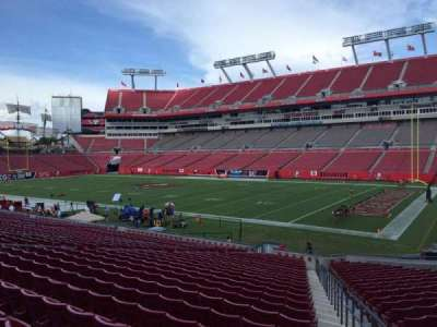 Raymond James Stadium secção 115