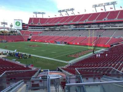 Raymond James Stadium secção 218