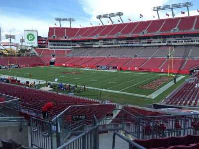 Raymond James Stadium secção 217