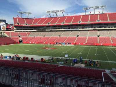 Raymond James Stadium secção 213