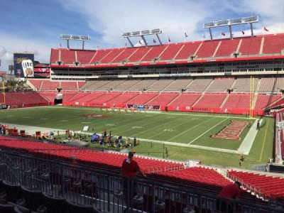 Raymond James Stadium secção 215