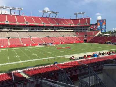 Raymond James Stadium secção 207