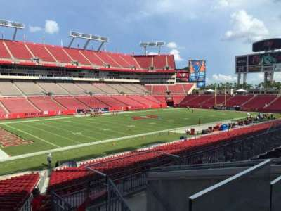 Raymond James Stadium secção 205