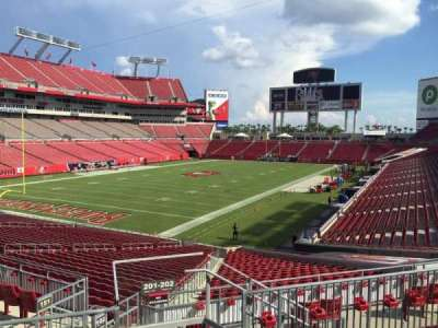 Raymond James Stadium secção 201
