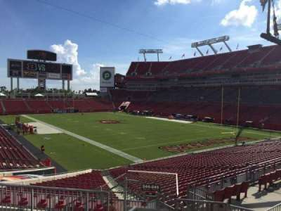 Raymond James Stadium secção 245