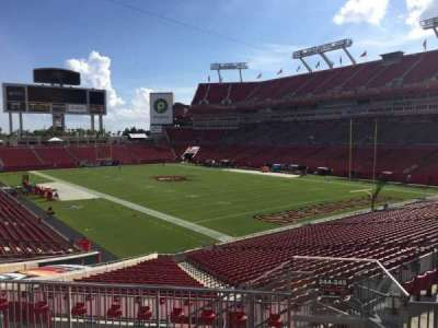 Raymond James Stadium secção 244