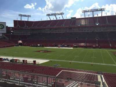 Raymond James Stadium secção 238