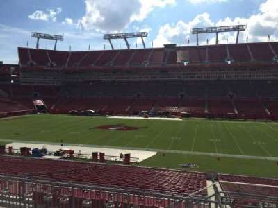 Raymond James Stadium secção 237