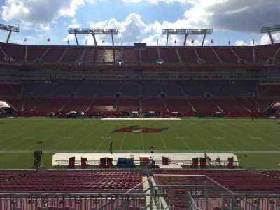 Raymond James Stadium secção 235