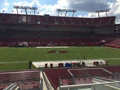 Raymond James Stadium secção 234