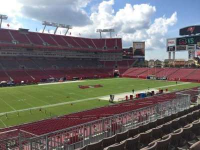 Raymond James Stadium secção 231