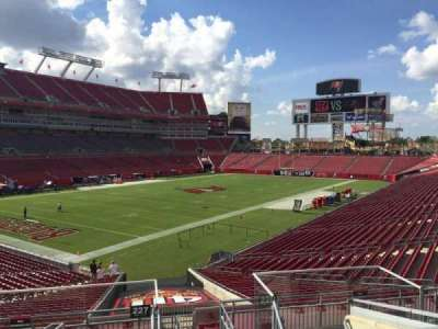 Raymond James Stadium secção 227