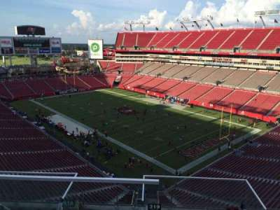 Raymond James Stadium secção 319
