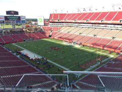 Raymond James Stadium secção 318