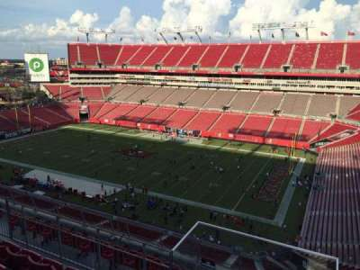 Raymond James Stadium secção 315