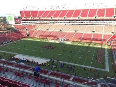 Raymond James Stadium secção 314