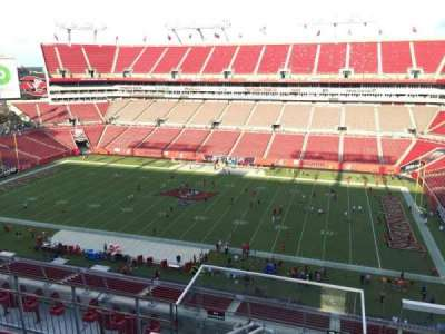 Raymond James Stadium secção 313