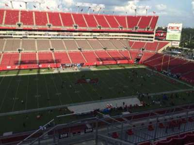 Raymond James Stadium secção 308