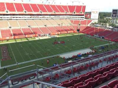 Raymond James Stadium secção 306