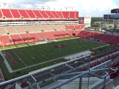 Raymond James Stadium secção 305