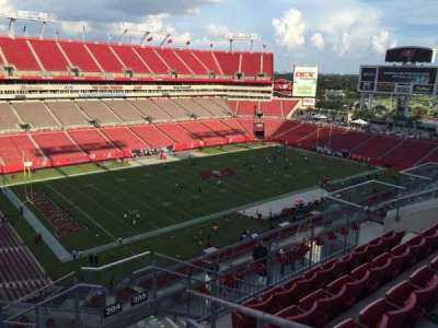 Raymond James Stadium secção 304