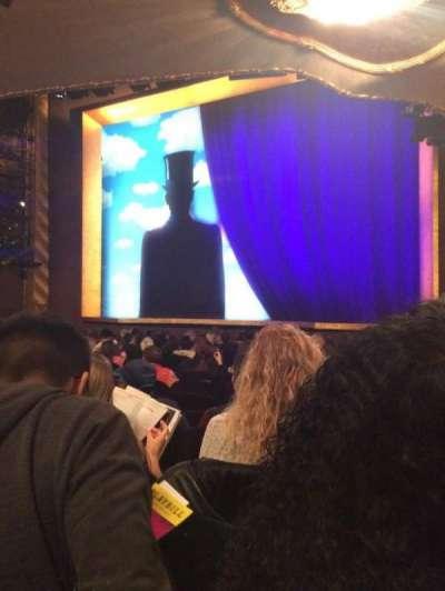 Lunt-Fontanne Theatre, secção: Orchestra, fila: R, lugar: 16