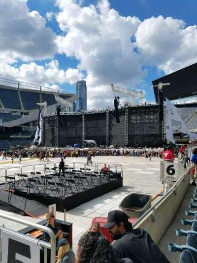 Soldier Field, secção: 110, fila: 2, lugar: 19