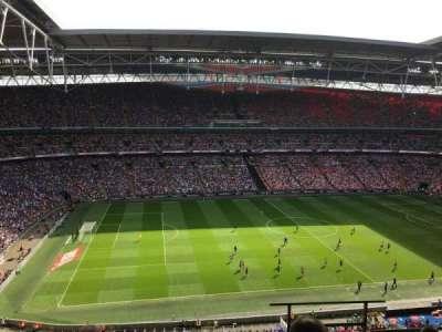 Wembley Stadium, secção: 503, fila: 5, lugar: 78