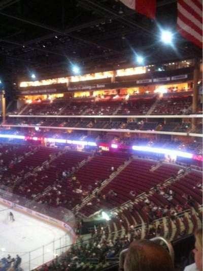 Gila River Arena, secção: 225, fila: D, lugar: 3