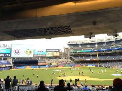 Yankee Stadium secção 125